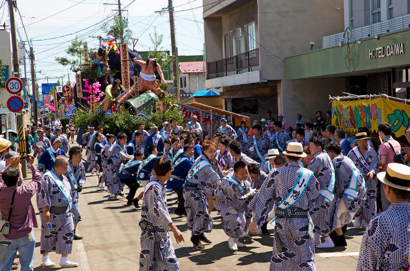 土崎 神明 社